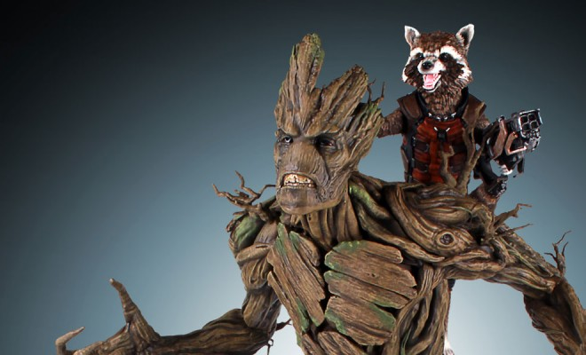 Rocket Raccoon And Groot Are Headed Into Battle