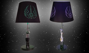 Star Wars Lightsaber Table Lamps Bring the Force to Every Room