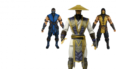 Kombat Begins with All-New Action Figures