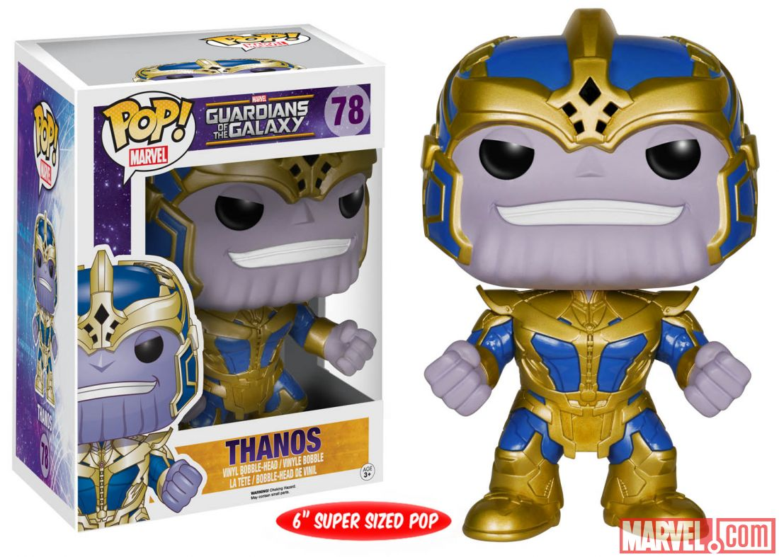 guardians of the galaxy thanos pop!