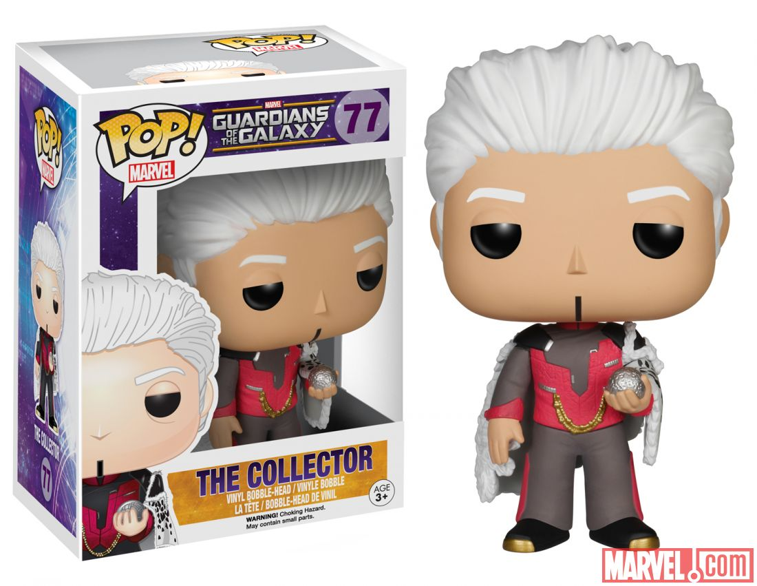 guardians of the galaxy the collector pop!