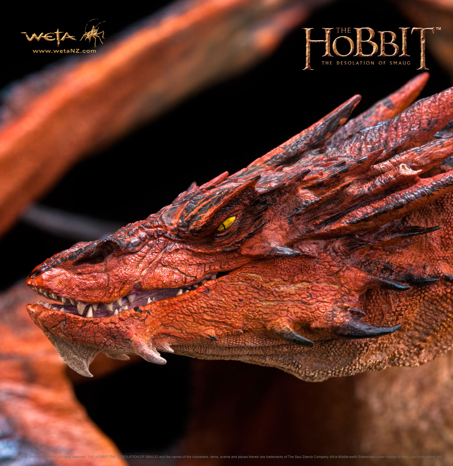 Smaug the Terrible Side