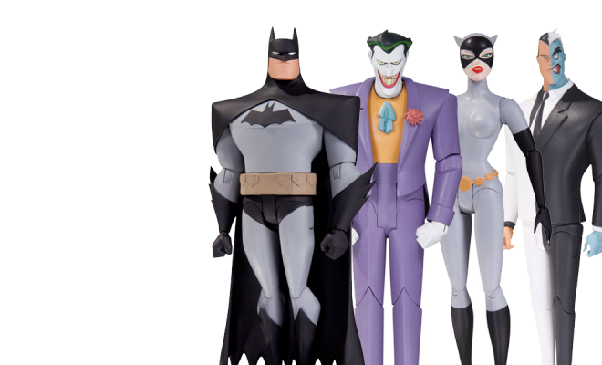 Find Out Why These Batman Animated Series Action Figures