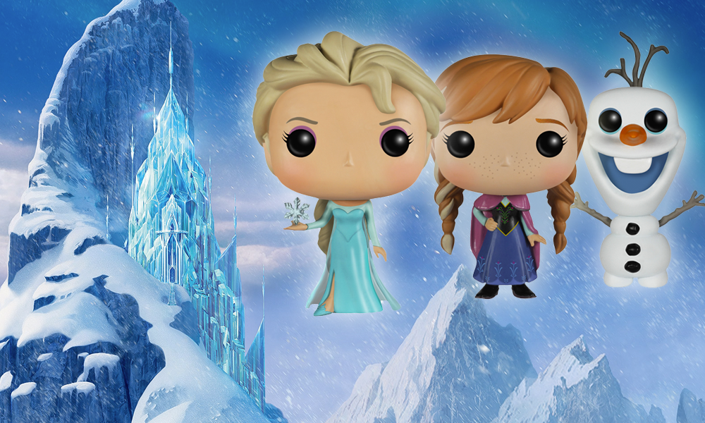 Frozen Pop! Vinyl Figures