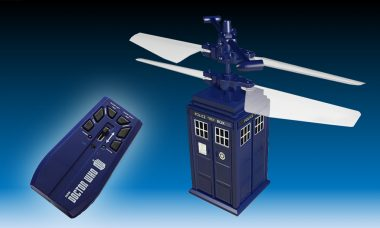 This TARDIS Is Small in Size but It Can Actually Fly