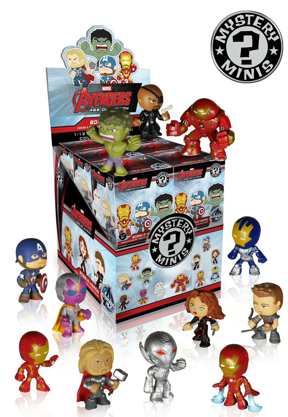 age of ultron mystery minis box