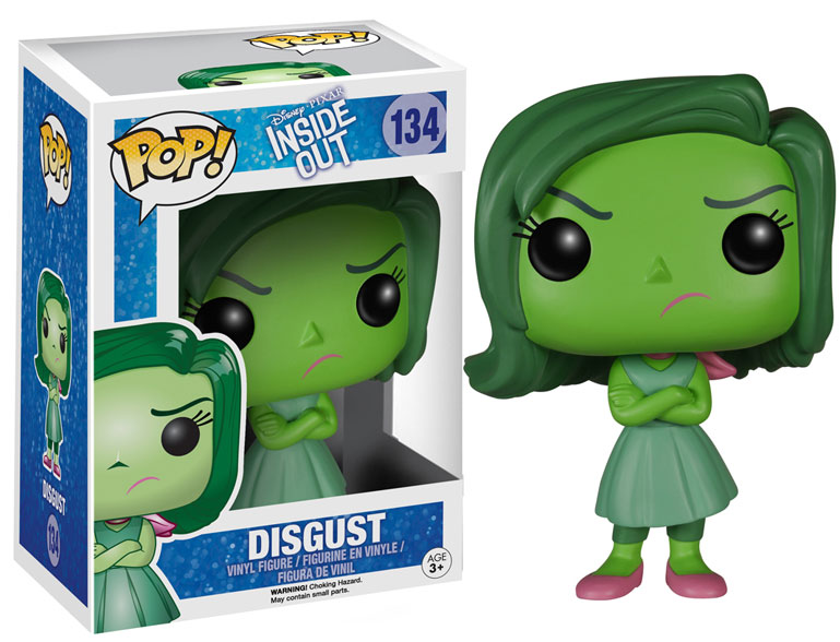 inside out disgust pop vinyl