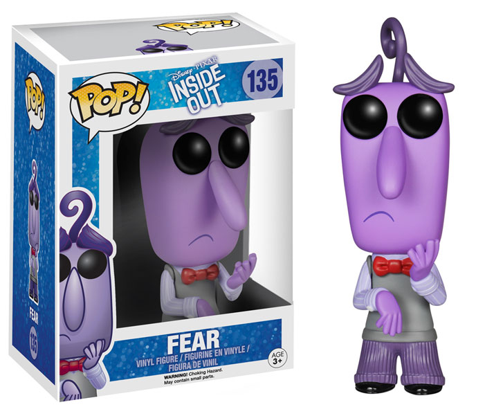 inside out fear pop vinyl