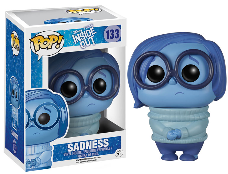 inside out sadness pop vinyl