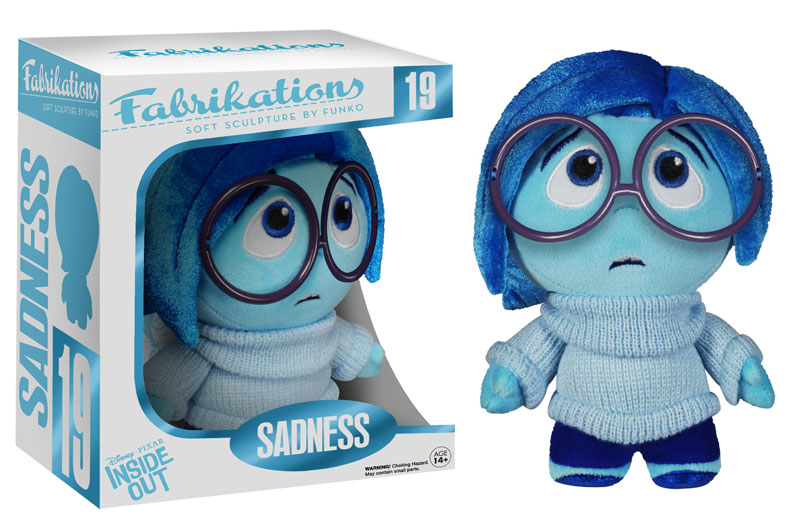 inside out sadness fabrikation plush