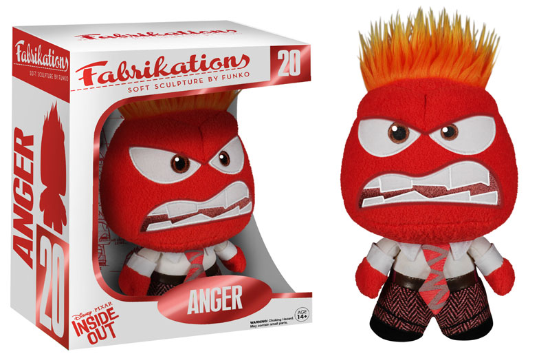 inside out anger fabrikation plush