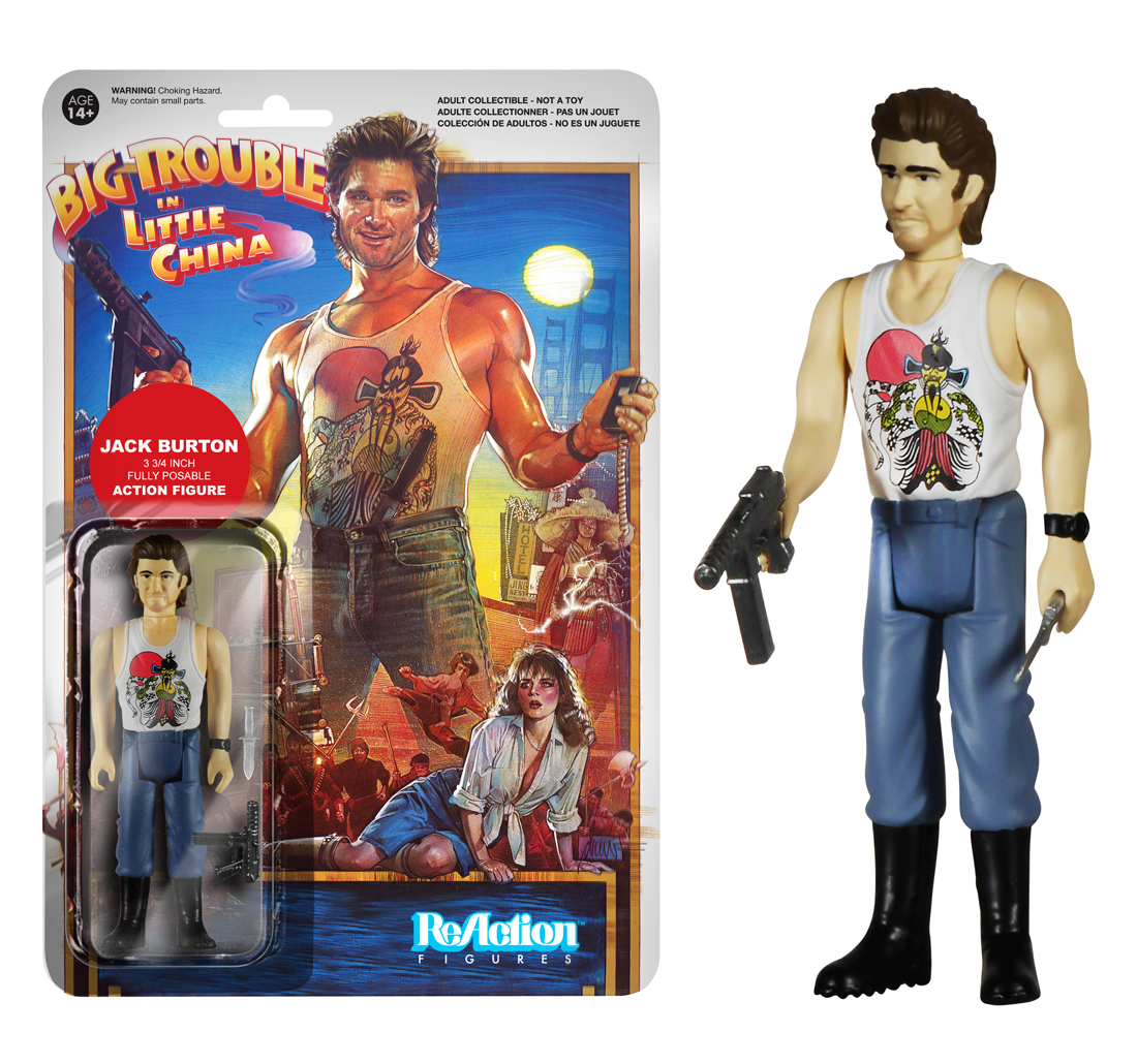 big trouble in little china jack burton figure