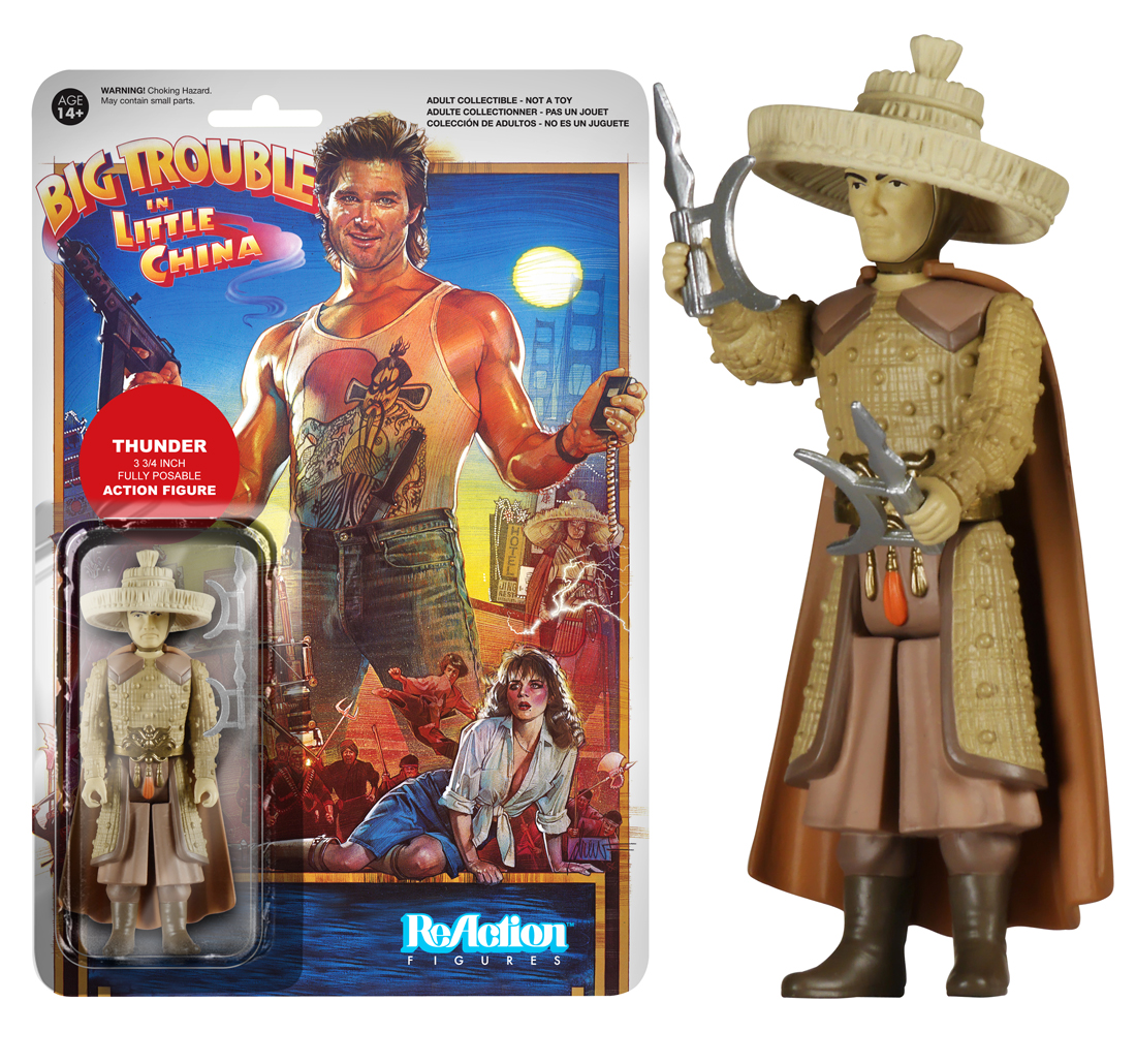 big trouble in little china thunder figure