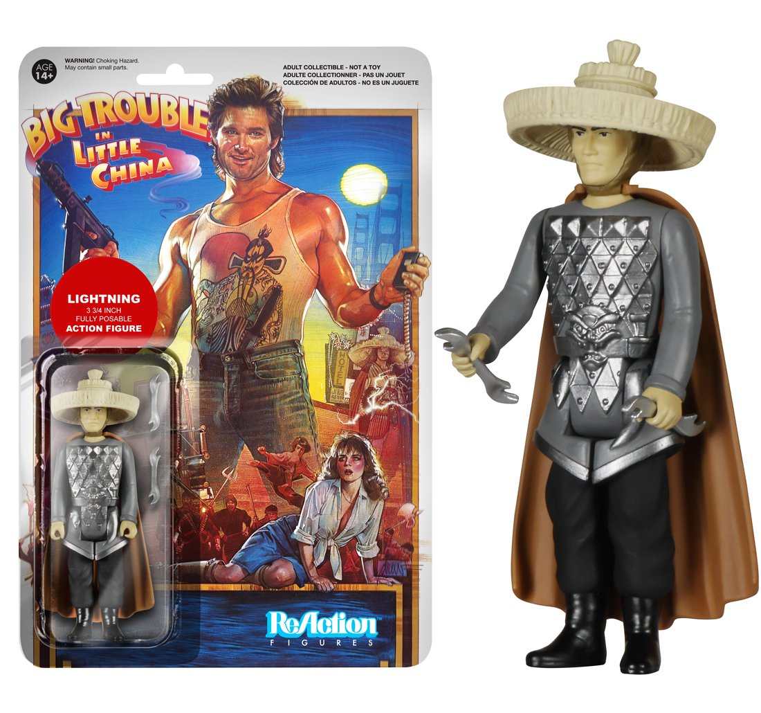 big trouble in little china lightning figure