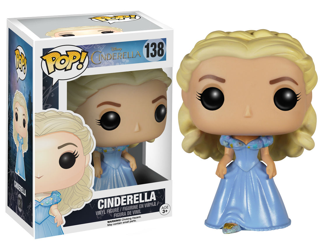cinderella live action pop! vinyl