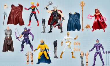 The Most Marvel-ous Heroes Are Joining Your Action Figure Collection