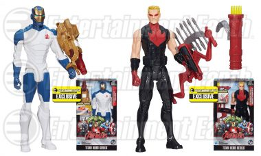 Power Up with These Exclusive Hasbro Avengers Action Figures