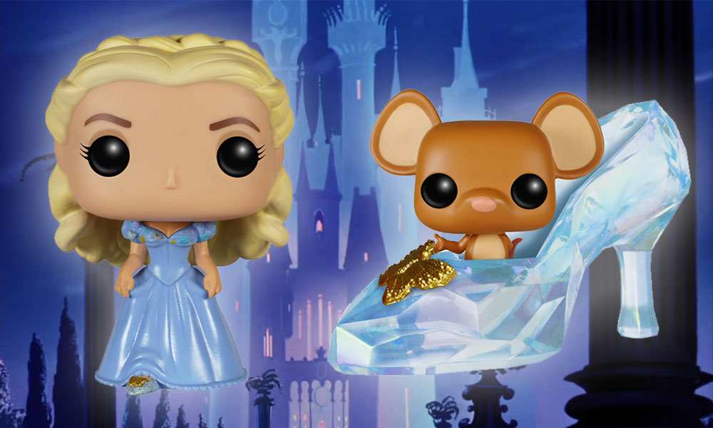 cinderella live action pop! vinyls