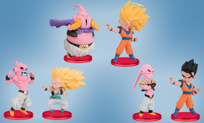Small But Mighty Super Saiyan Mini Figures Are Ready For