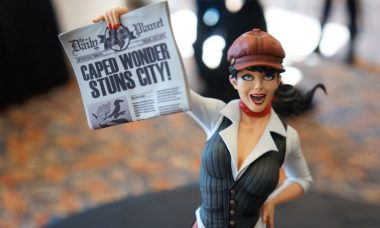 Extra, Extra, Read All About the New Bombshell Statue