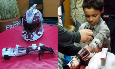 7-Year Old Boy Has Joined the Ranks of Clone Troopers with Prosthetic Arm