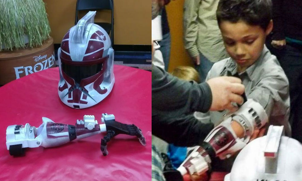7-Year Old Boy Has Joined the Ranks of Clone Troopers with