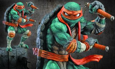 Which of the Teenage Mutant Ninja Turtles Battles with Nunchaku?