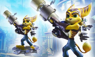 Limited Edition Ratchet and Clank Protect Your Collection