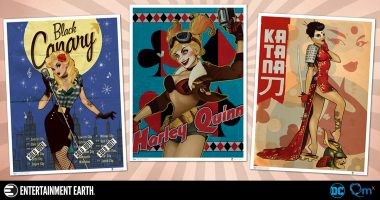 Travel Back to the 1940s with DC Bombshells Art Prints