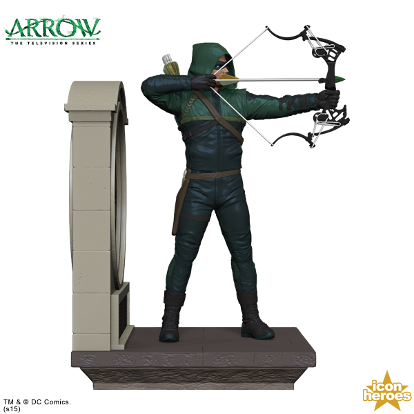 Green arrow to clock tower books are in position entertainment