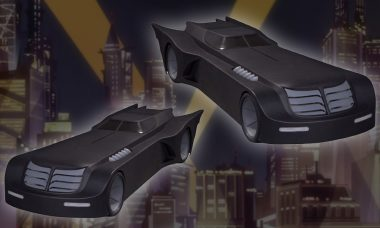 Now Your Batman Animated Figures Can Have a Sweet Ride
