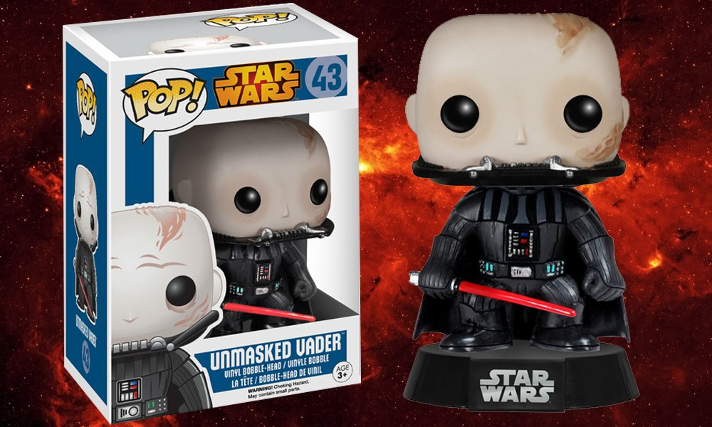 Can You Feel The Good In New Unmasked Star Wars Pop Vinyl