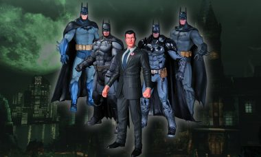 The Caped Crusader Returns to Arkham in More Ways Than One
