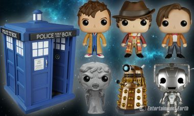 New Pop! Vinyls Are Wibbly-Wobbly, Timey-Wimey
