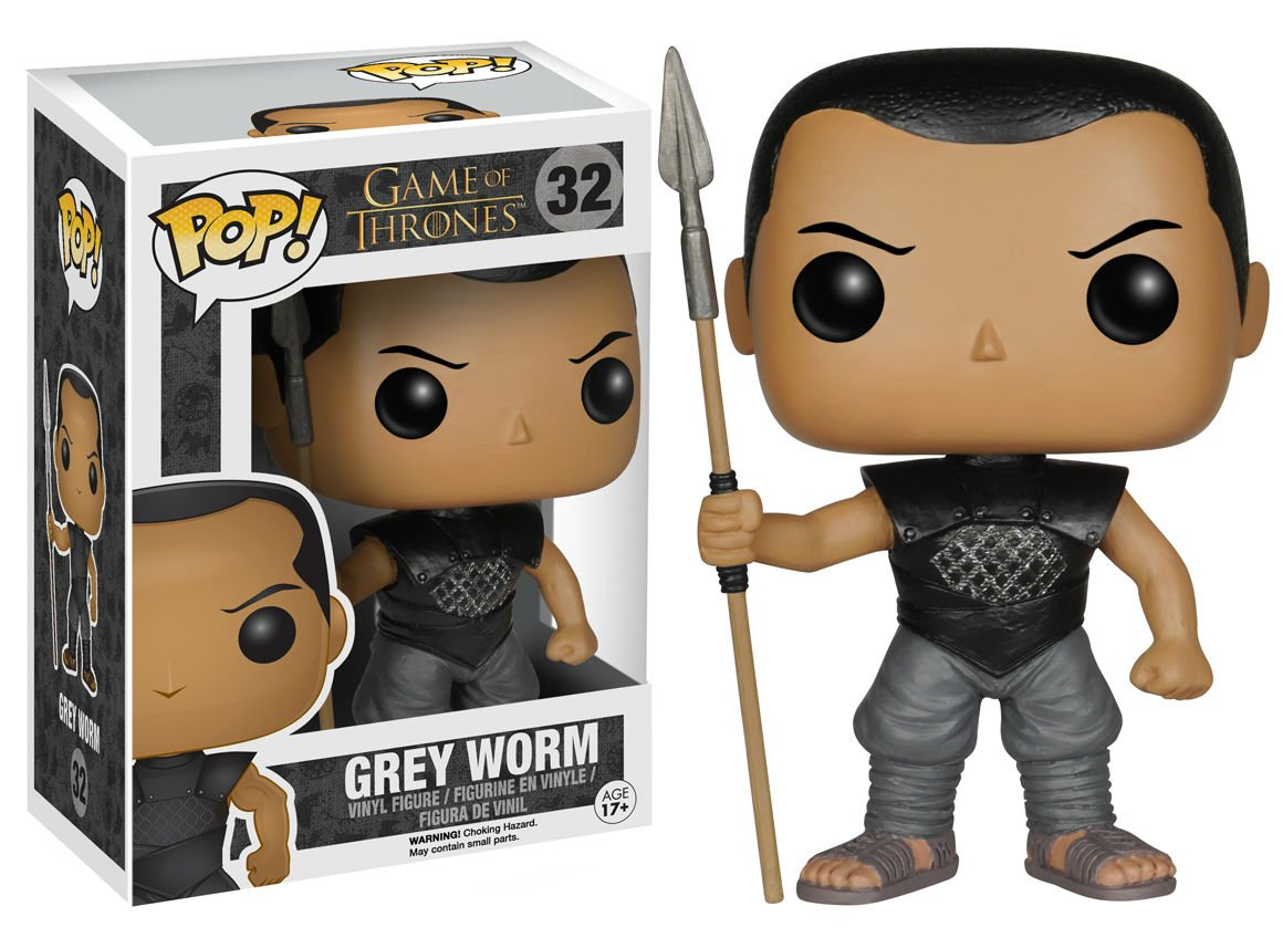 grey worm pop vinyl