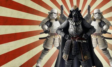 Figures That Feel the Power of the Dark Side in Feudal Japan