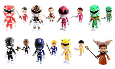 Check Out These Mighty Morphin Mini-Figures