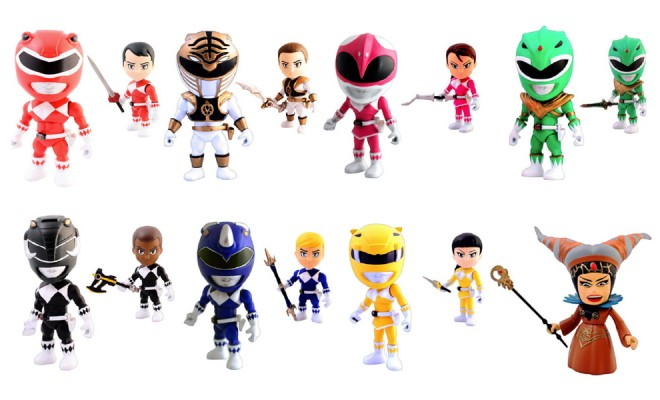 Check Out These Mighty Morphin Mini Figures