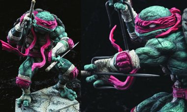 This Brawling Turtle Fights His Way Into Your Collection
