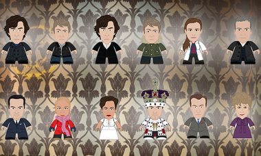 These Mini-Figures Solve Crimes and Drink Tea at 221B Baker Street