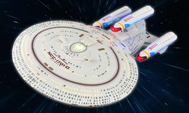 The Sky's the Limit for the Crew of the Enterprise-D
