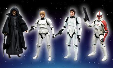 Bringing You the Greatest Figures from a Galaxy Far, Far Away