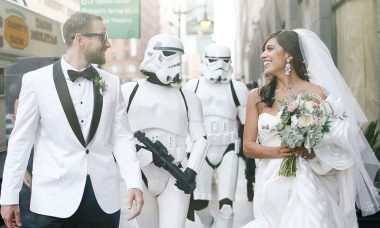 Star Wars Themed Wedding Is the Definition of Geek-Chic