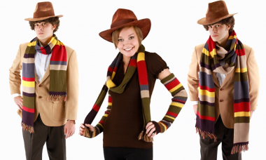 Wrap This Scarf Around You, Grab a Jelly Baby, and Get Ready to Time Travel