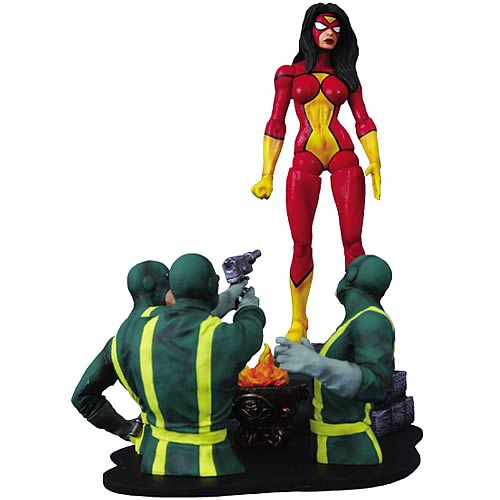 spider-woman figure