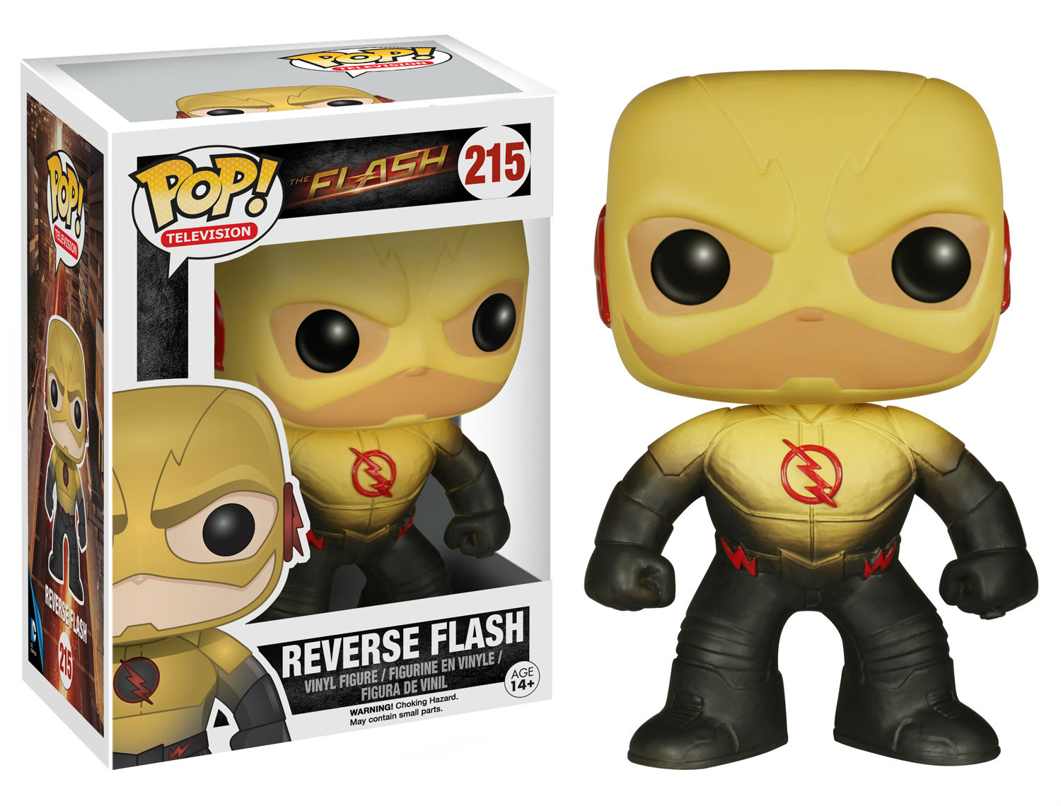 reverse flash pop vinyl