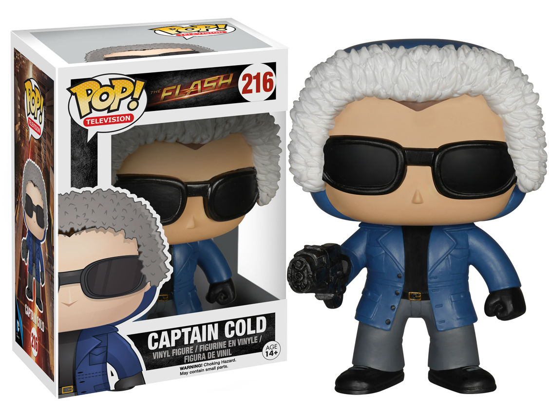 captain cold pop vinyl