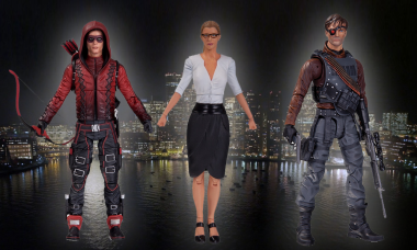 New Action Figures Head to Starling City and Prepare for War