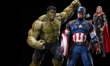 Assemble Your Own Avengers with New Model Kits