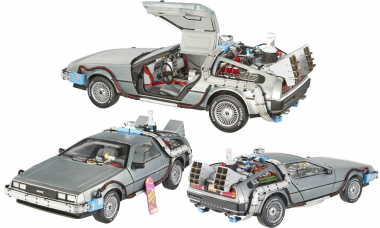 This Die-Cast DeLorean Lets You Save the Best Trip for Last